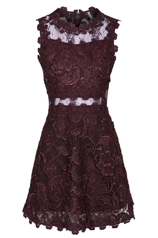 Vestido Encaje TopShop (U$D190)
