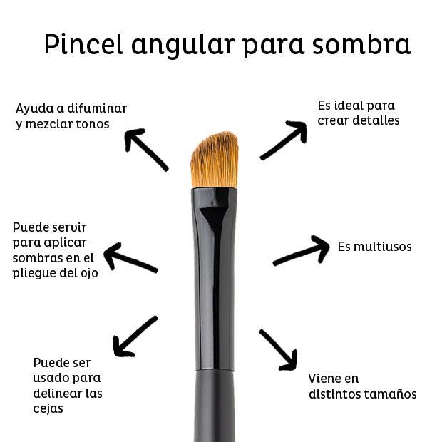 angular para sombra - Guía de Brochas y Pinceles y como usarlos
