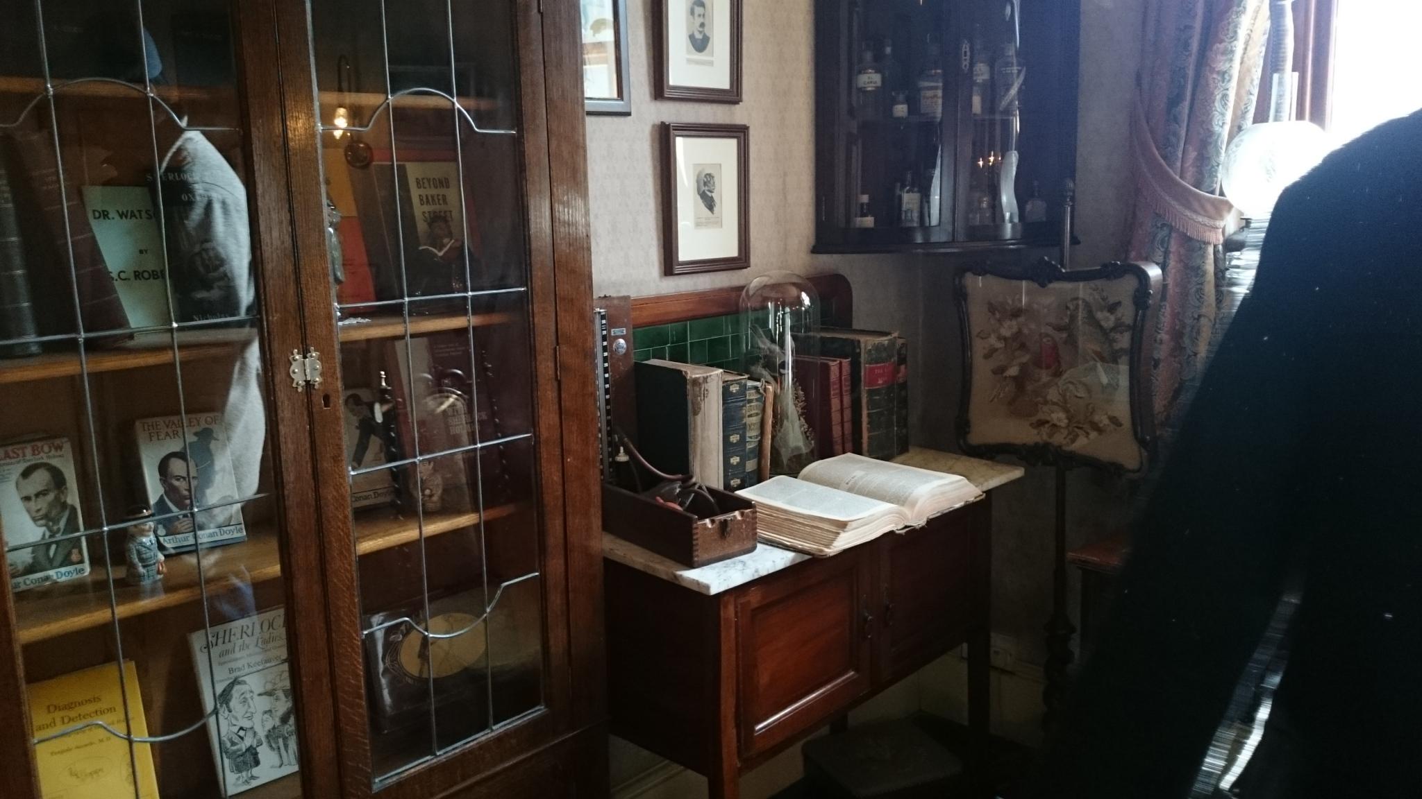 dsc 0949 - El Museo / Casa de Sherlock Holmes en Londres