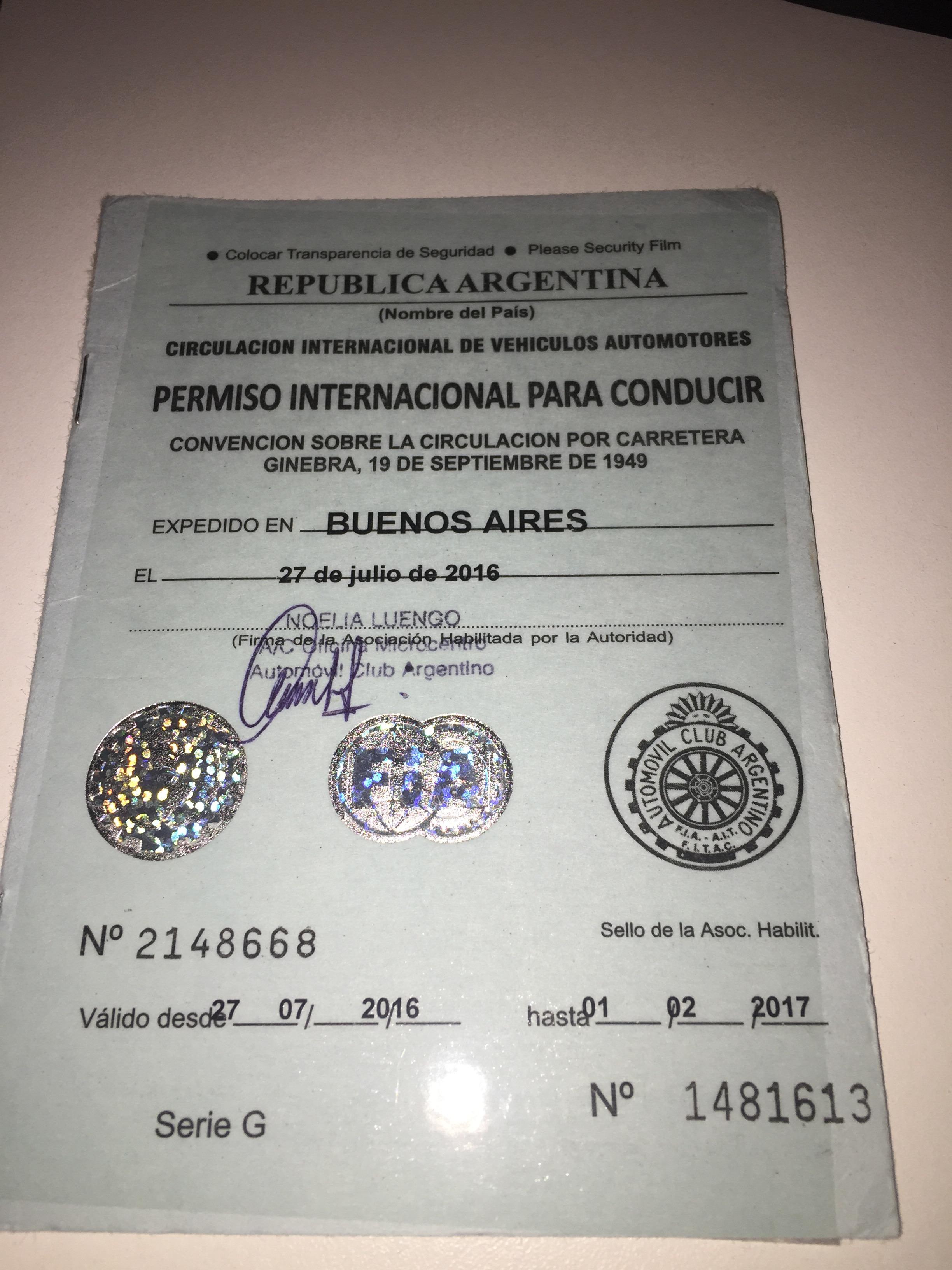 img 5399 - Como tramitar la Licencia de Conducir Internacional 2017