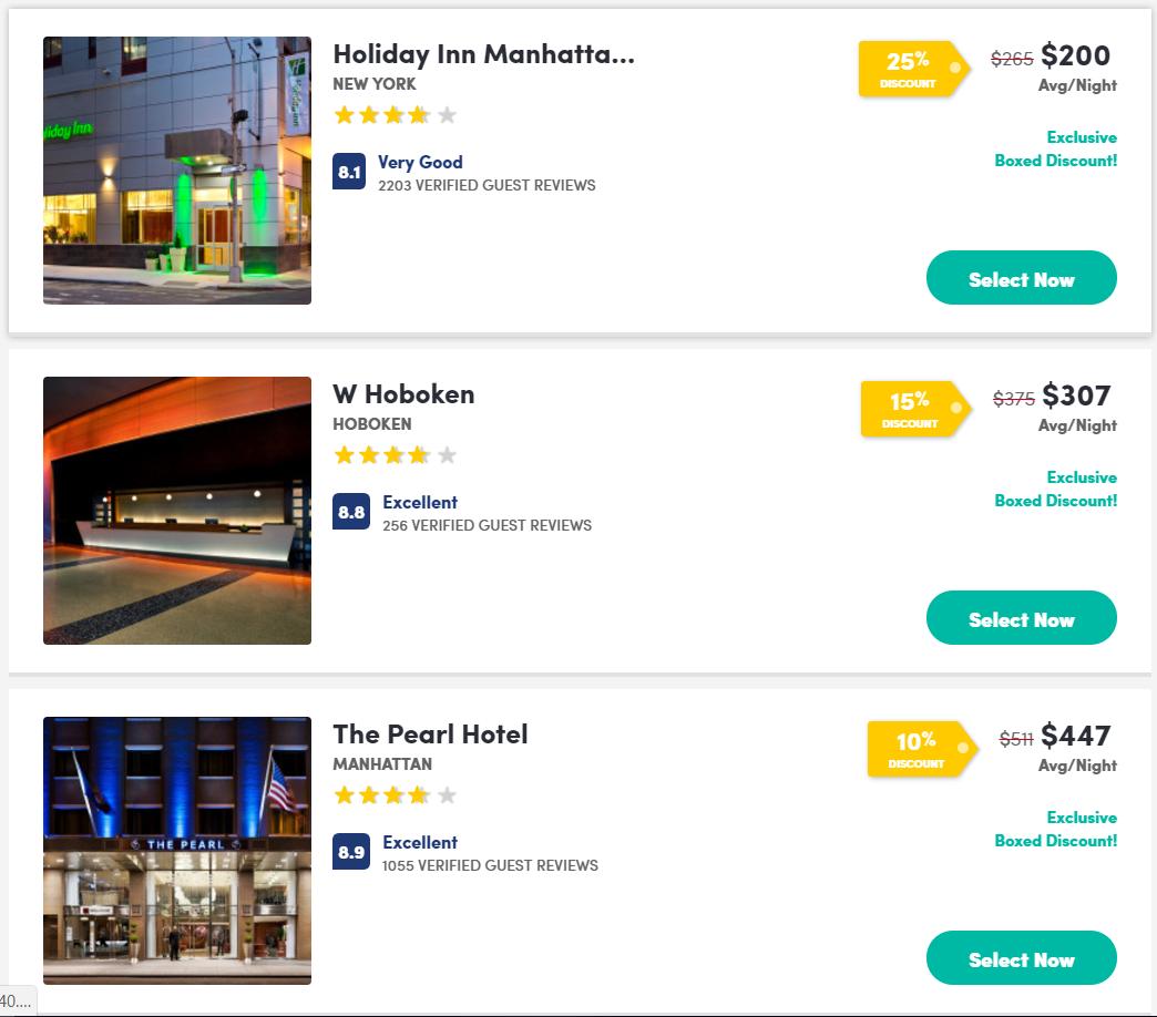 busqueda - BOXED Hotels el nuevo sitio web de reservas de hoteles que ofrece hasta un 40% de descuento
